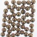 Strass thermocollants bronze decoré 6mm