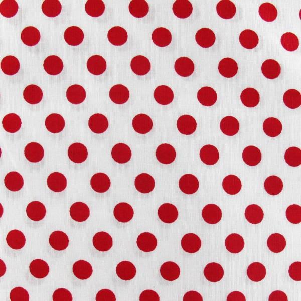 Tissu pois rouge fond blanc x 10cm ma petite mercerie - Imprimer photo sur tissu ...