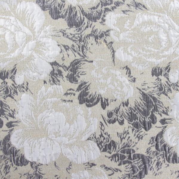 tissu damass rosier de damas beige x 10cm ma petite. Black Bedroom Furniture Sets. Home Design Ideas