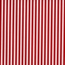 Tissu Clown Stripe Redx x10cm