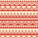 Tissu serenata lace red x 10cm