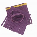 Kit grand pompon double cuir Purple